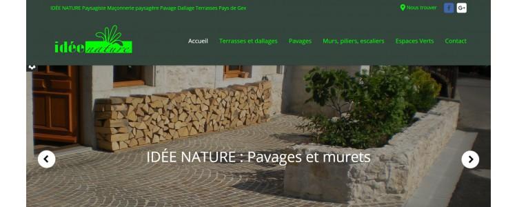 IDEE NATURE : Visitez notre nouveau site internet