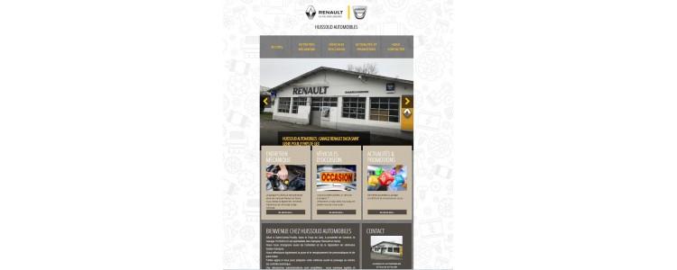 HUISSOUD AUTOMOBILES : Venez visiter notre nouveau site internet !!